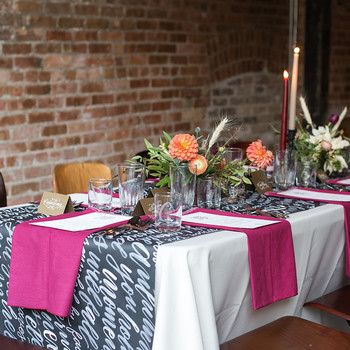 Use Calligraphy To Upgrade Your Tablescape