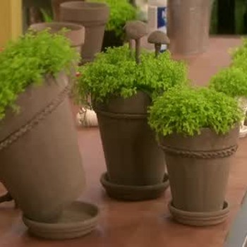 Creative Terracotta Pots