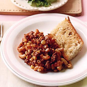 Macaroni with Beef
