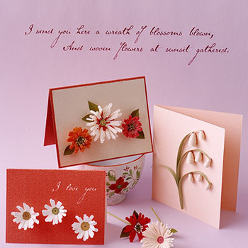 Quilled Floral Cards