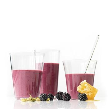 Blackberry-Yogurt Smoothies