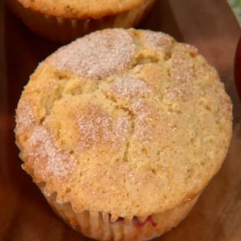 Plum Coffee Cake Muffins