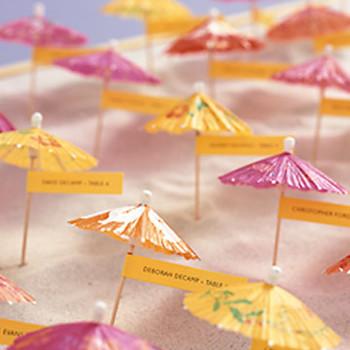 Parasol Seating Cards