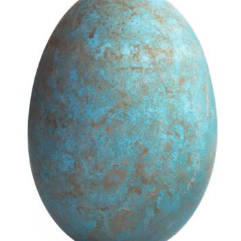 Sponge-Painted Eggs