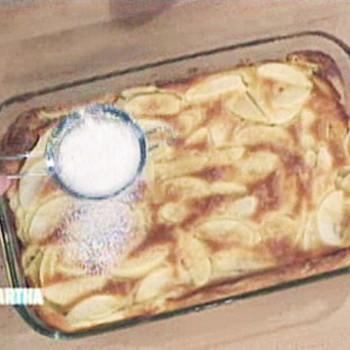 Apple Puffed Pancake