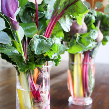 How to Make a Bouquet...Out of Vegetables