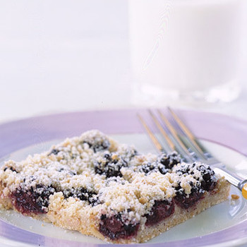 Blackberry-Almond Shortbread Squares