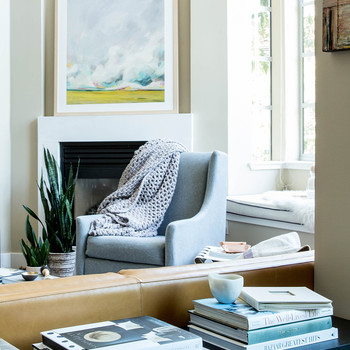 Preparing For Baby: How One Couple Streamlined Their Living Room Without  Sacrificing Style