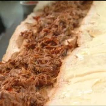Creole Pulled Pork Po Boy
