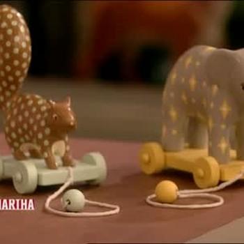 Handmade Pull Toys, Part 1