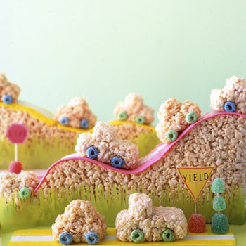 Stop and Goo Rice-Cereal Car Treats