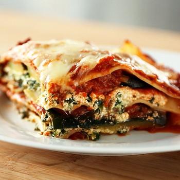 Lighter Vegetable Lasagna