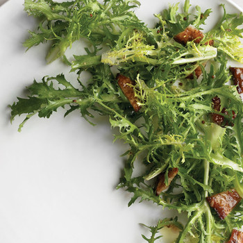 Frisee Salad with Brown-Sugar Bacon