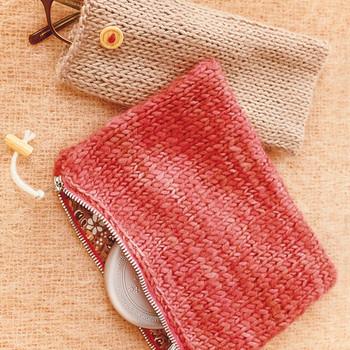 Knit Pouches