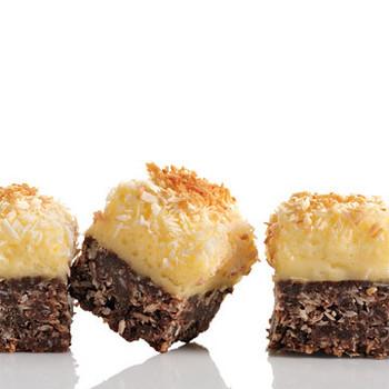 Chocolate-Coconut Cheesecake Squares