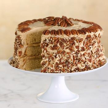 Watch: Butterscotch-Pecan Cake