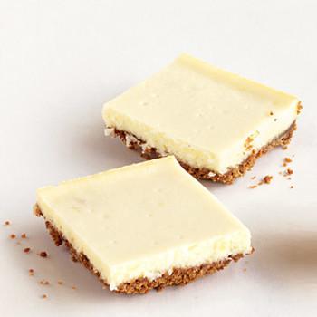 Ginger Cheesecake Bars