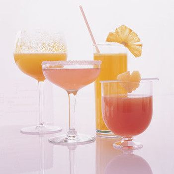 Pink and Gold: Colorful Cocktails