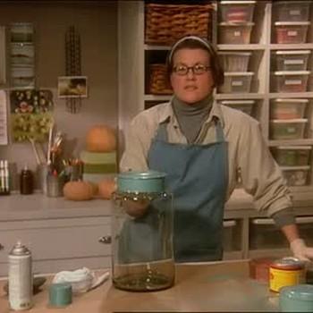 How to Paint Antique Jar Lids