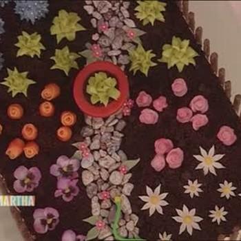 Secret Garden Cake, Part 1