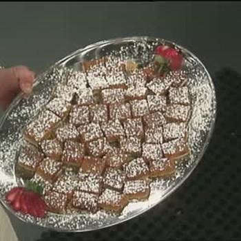 Sweet Potato Dessert Bars