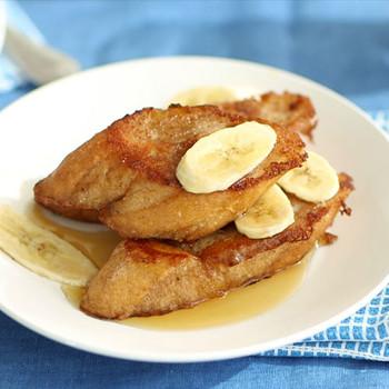 Vegan Banana French Toast