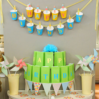 Party Cup Garland and Game