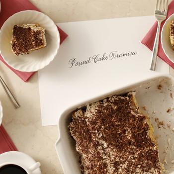 Tiramisu Pound Cake