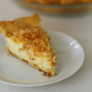 Coconut Custard Pie Video