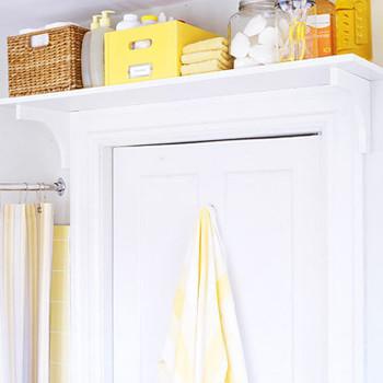 Install a Toiletry Shelf