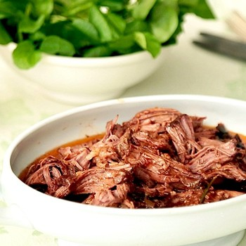 Beer-Braised Lamb Shoulder