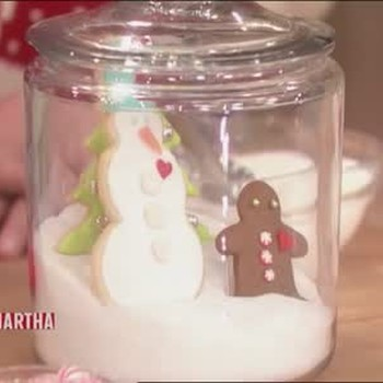 Christmas Cookie Snowscape