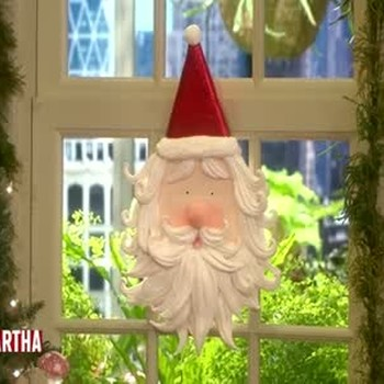 Clay Santa Claus Ornaments