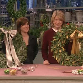 Finished Christmas Wreaths