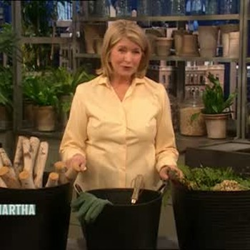 Garden Trug and Ask Martha