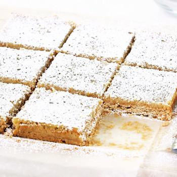 Lemon and Coconut Tofu Squares