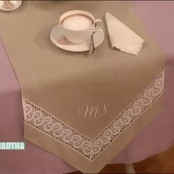 Monogrammed Tables Runners