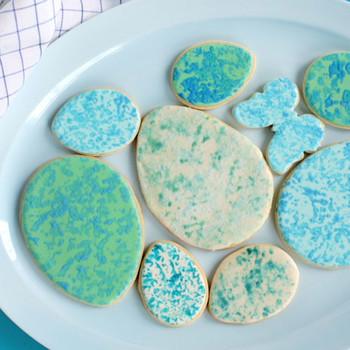 Sponge Speckled Egg Cookie
