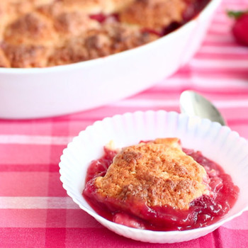 Strawberry Cobbler Dessert