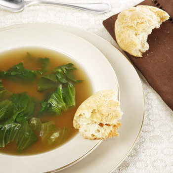 My Mother's Chicken Escarole Soup