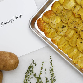 Easy Baked Potato Slices