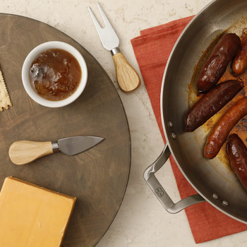 Pan-Crisped Sausages Video