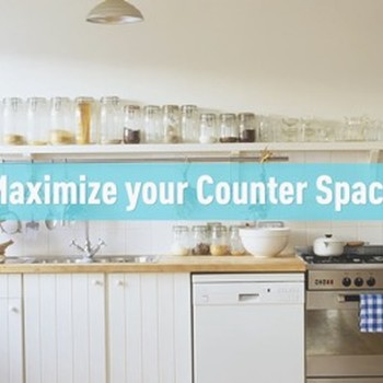 Maximize Your Counter Space