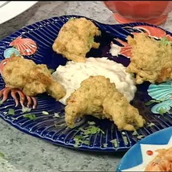Crawfish Tail Meat Beignets