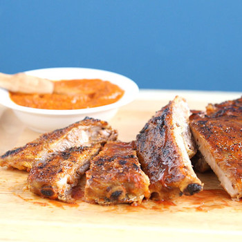 Easy and Spicy Rub for Grilled Ribs