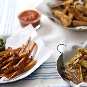 How to Make Vegetable Fries