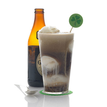 Irish Stout Ice Cream Float