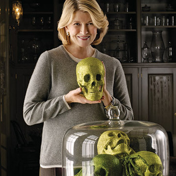 Martha Stewart Creates a Macabre Mood for Halloween