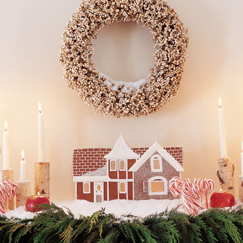 How to Make a Gingerbread House Facade