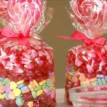 Creating Cute Packaging for Valentine's Candy